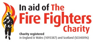 In aid of Fire Fighters Charity logo