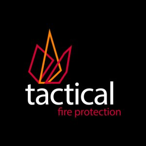 Logo for Tactical Fire Protection – The fire protection specialists.