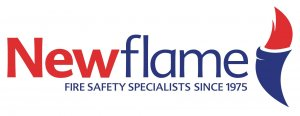 Logo for Newflame Fire Equipment Co. Ltd. – Helping to protect you from fire