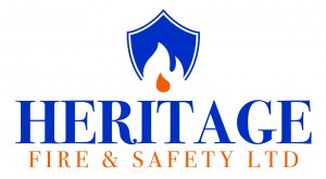 Logo for Heritage Fire and Safety -